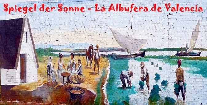 spiegel der sonne la albufera de valencia via